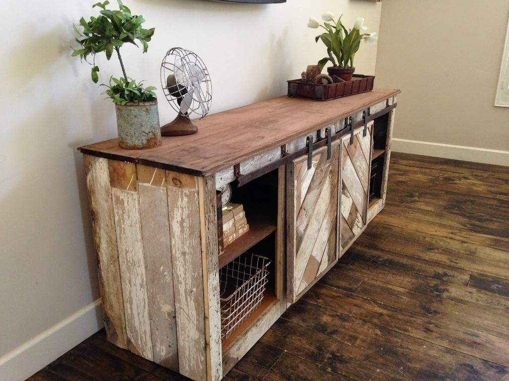 Sideboards. Amusing Rustic Buffet Furniture: Rustic-Buffet inside Distressed Wood Sideboards (Image 25 of 30)