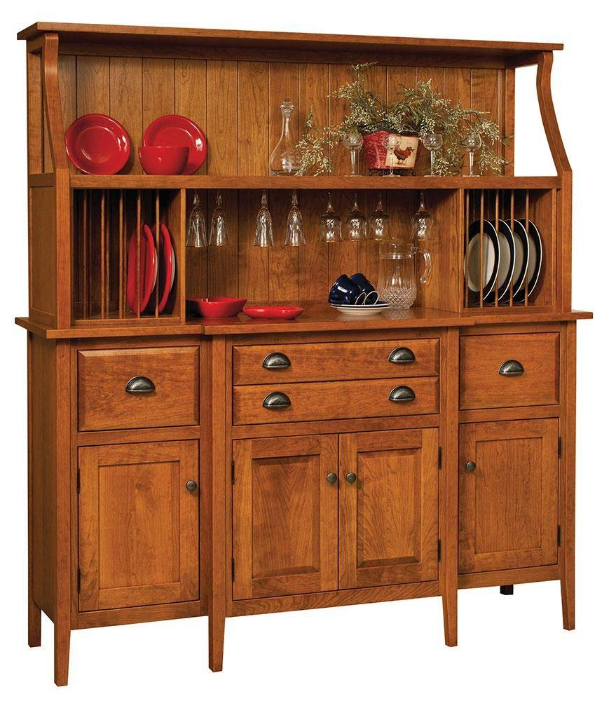 Sideboards. Amusing Solid Wood Buffet: Solid-Wood-Buffet-Solid inside Real Wood Sideboards (Image 14 of 30)