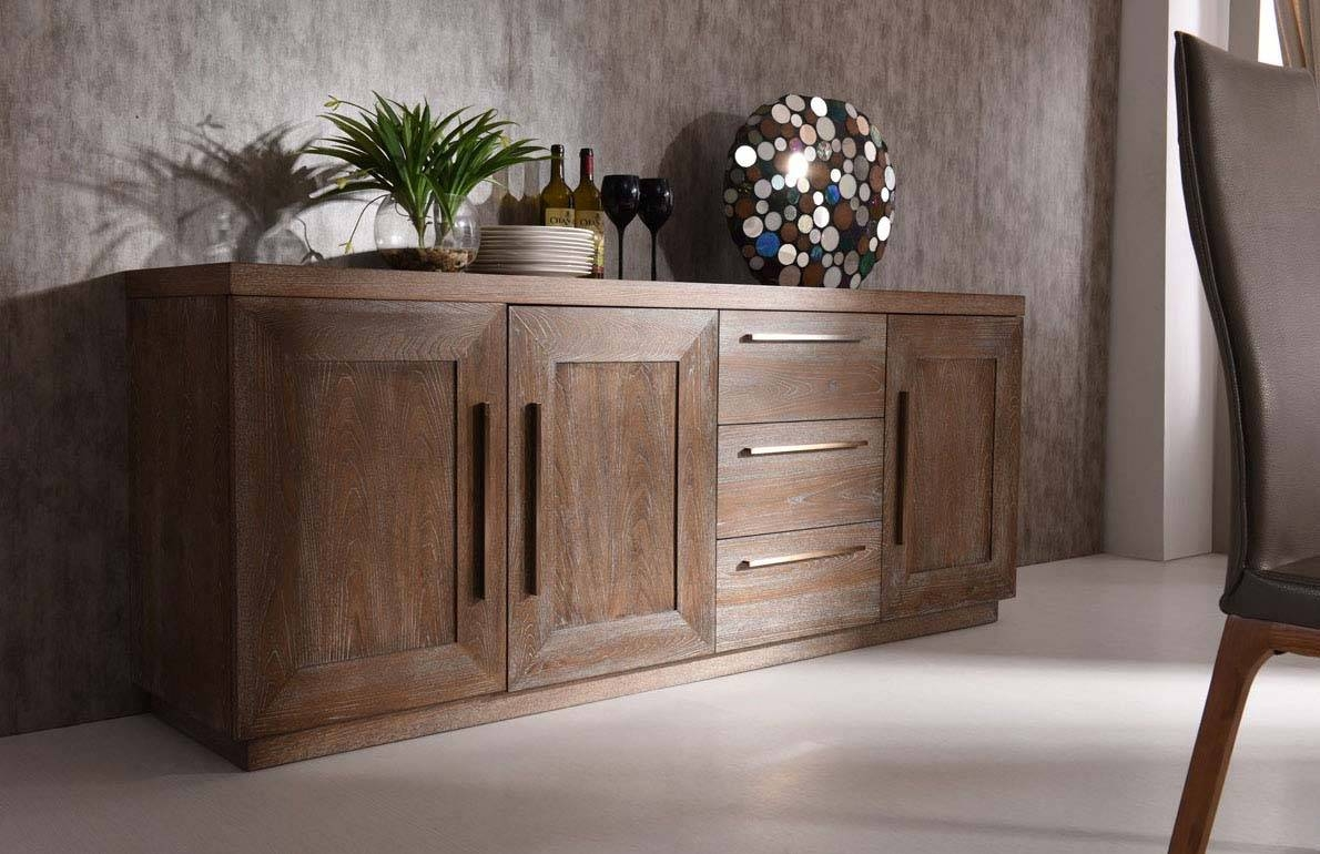 Sideboards. Astonishing Modern Sideboards And Buffets: Modern regarding Contemporary Oak Sideboards (Image 26 of 30)