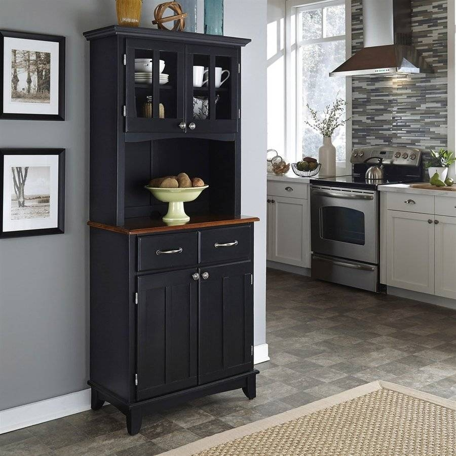 Sideboards. Astonishing Small Kitchen Hutch: Small-Kitchen-Hutch for Small Dark Wood Sideboards (Image 13 of 30)