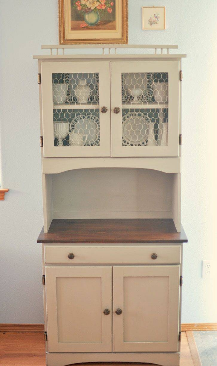 Sideboards. Astonishing Small Kitchen Hutch: Small-Kitchen-Hutch for Unusual Sideboards (Image 24 of 30)