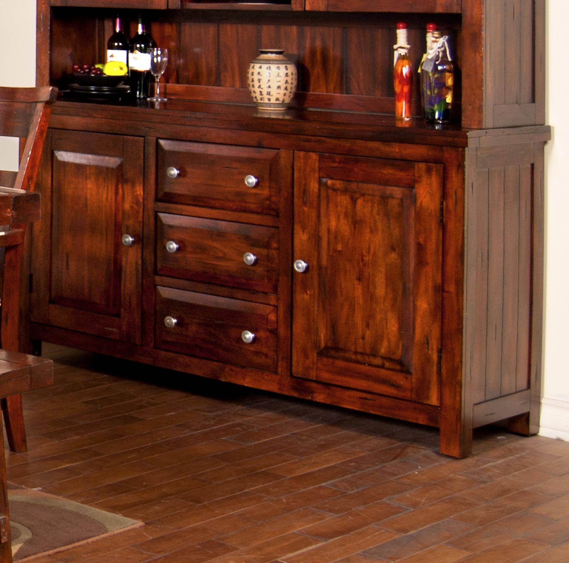 Sideboards. Astounding Narrow Sideboards And Buffets: Narrow throughout Country Sideboards (Image 15 of 30)