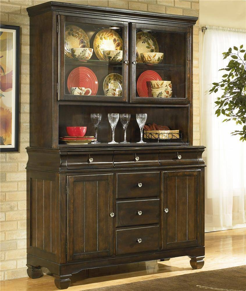 Sideboards. Awesome China Buffet Furniture: China-Buffet-Furniture for Small Dark Wood Sideboards (Image 16 of 30)