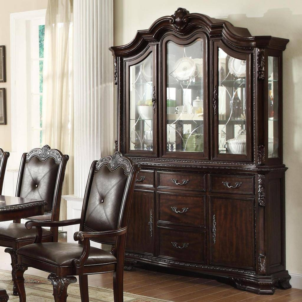 Sideboards. Awesome China Buffet Furniture: China-Buffet-Furniture within Small Dark Wood Sideboards (Image 17 of 30)