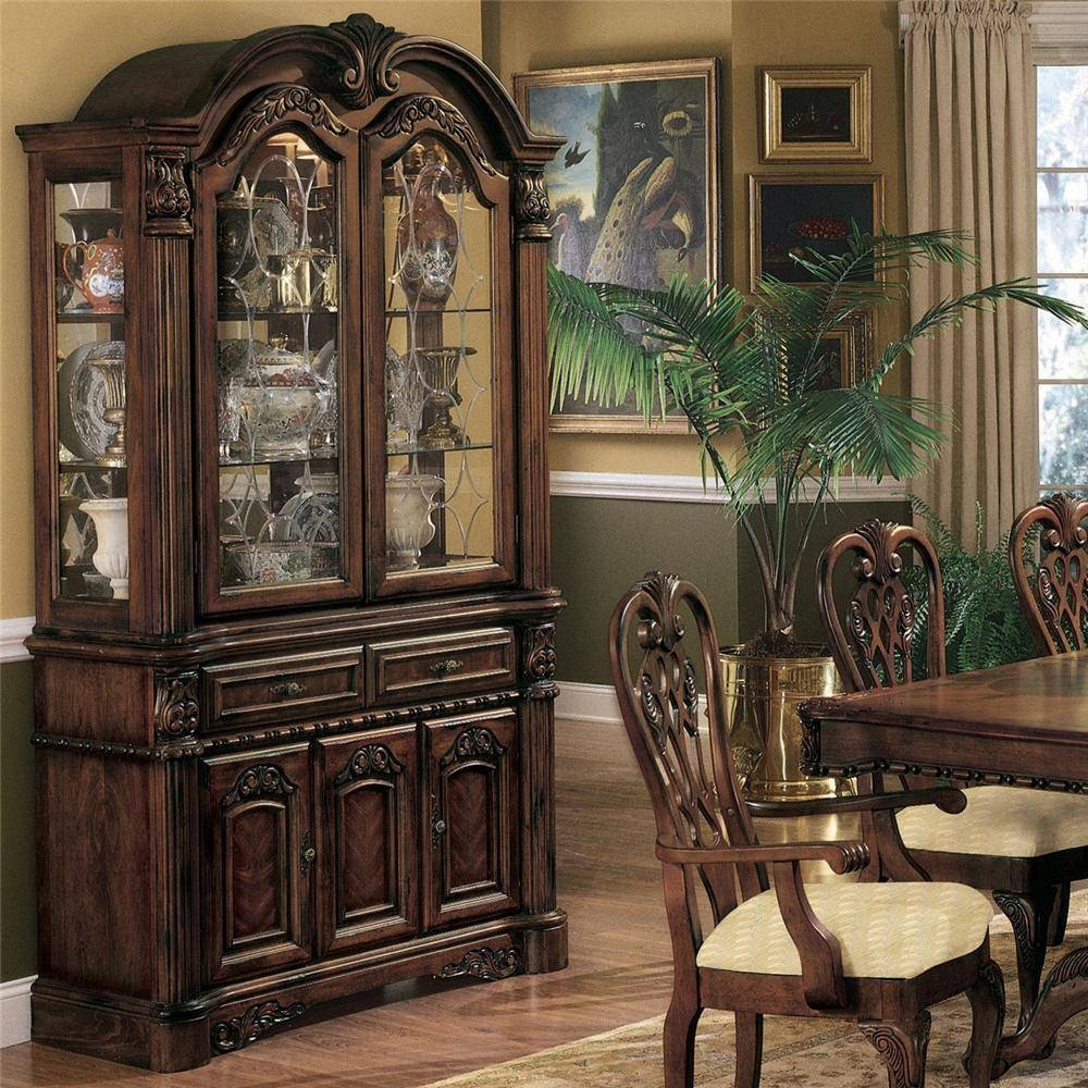 Sideboards: Awesome China Buffet Furniture Dining Room Cabinets with Curved Sideboards (Image 26 of 30)