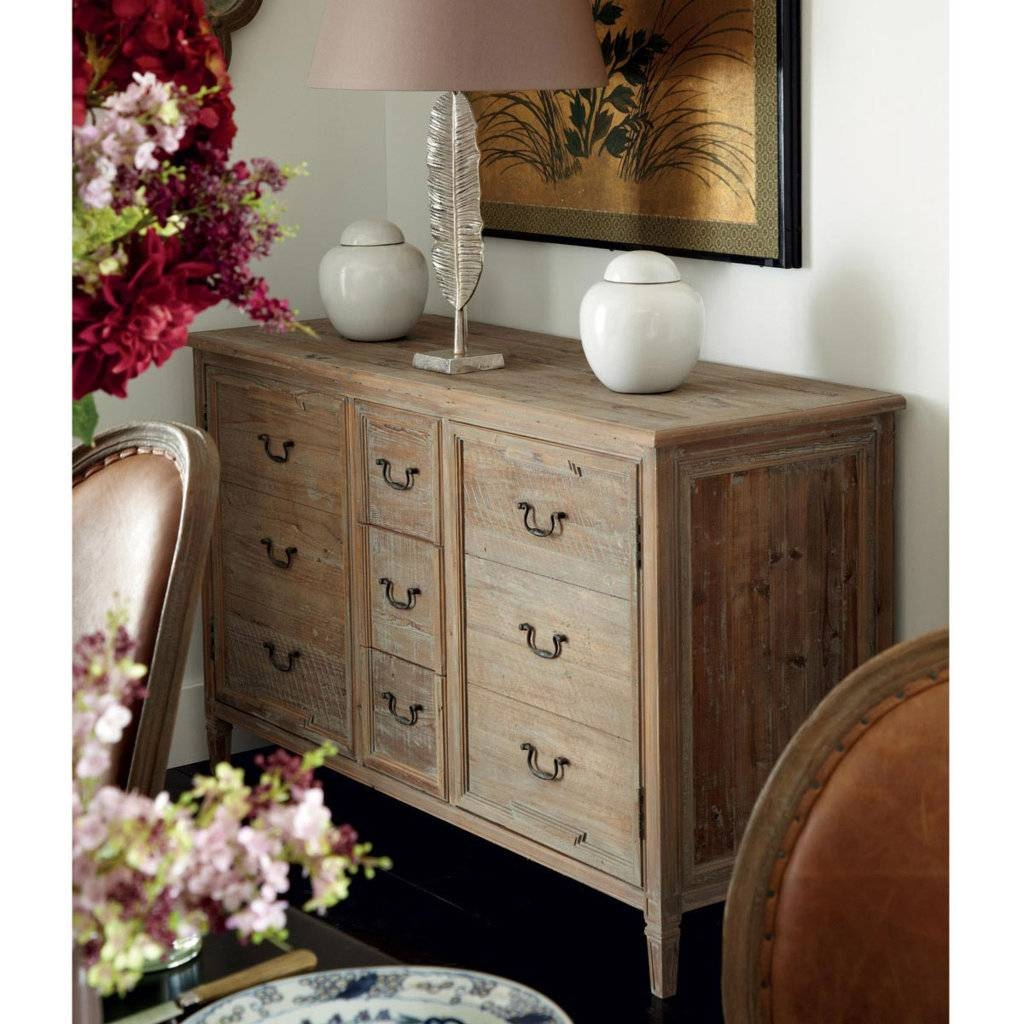 Sideboards. Awesome Distressed Pine Sideboard: Distressed-Pine inside Distressed Wood Sideboards (Image 27 of 30)
