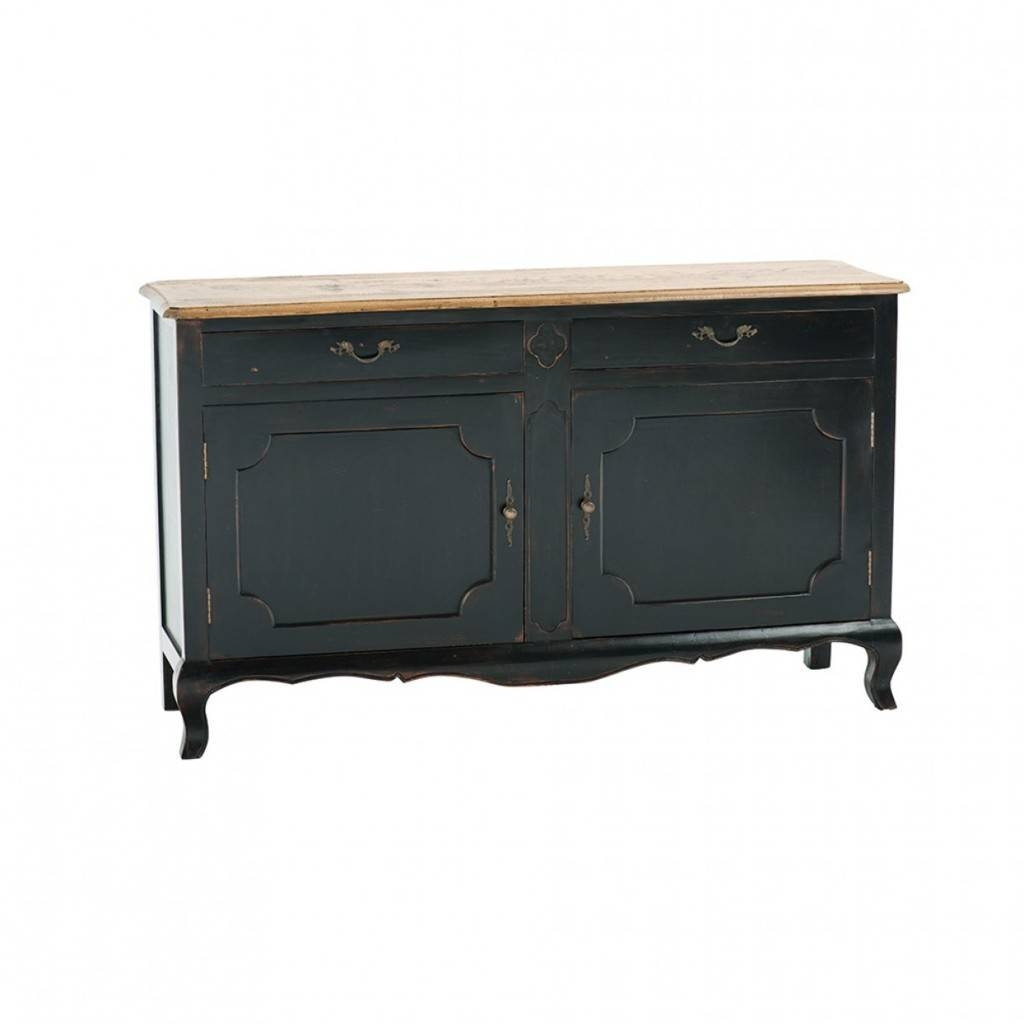 Sideboards. Awesome Distressed Sideboards And Buffets: Distressed regarding Black Wood Sideboards (Image 25 of 30)