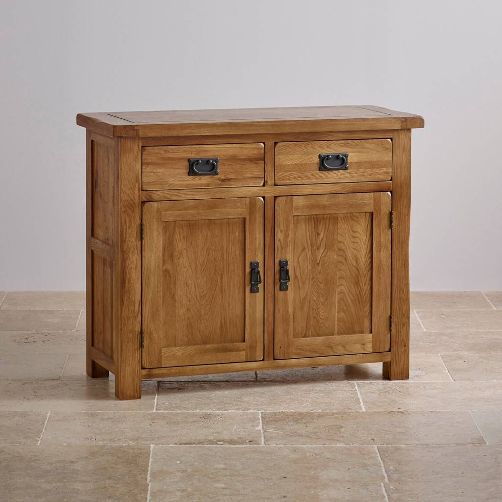 Sideboards. Awesome Small Sideboard Furniture: Small-Sideboard for Narrow Oak Sideboards (Image 18 of 30)