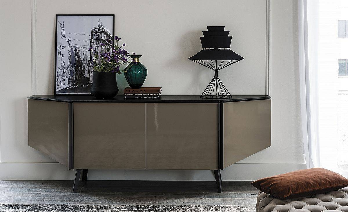 Sideboards. Glamorous Contemporary Sideboard: Contemporary in Modern Contemporary Sideboards (Image 27 of 30)