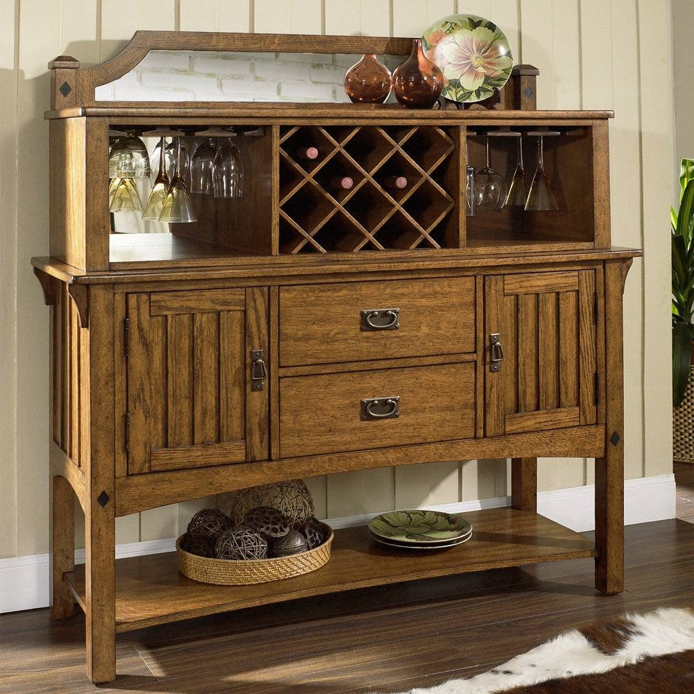Sideboards. Glamorous Dining Room Hutch Buffet: Dining-Room-Hutch intended for Tall Sideboards (Image 24 of 30)