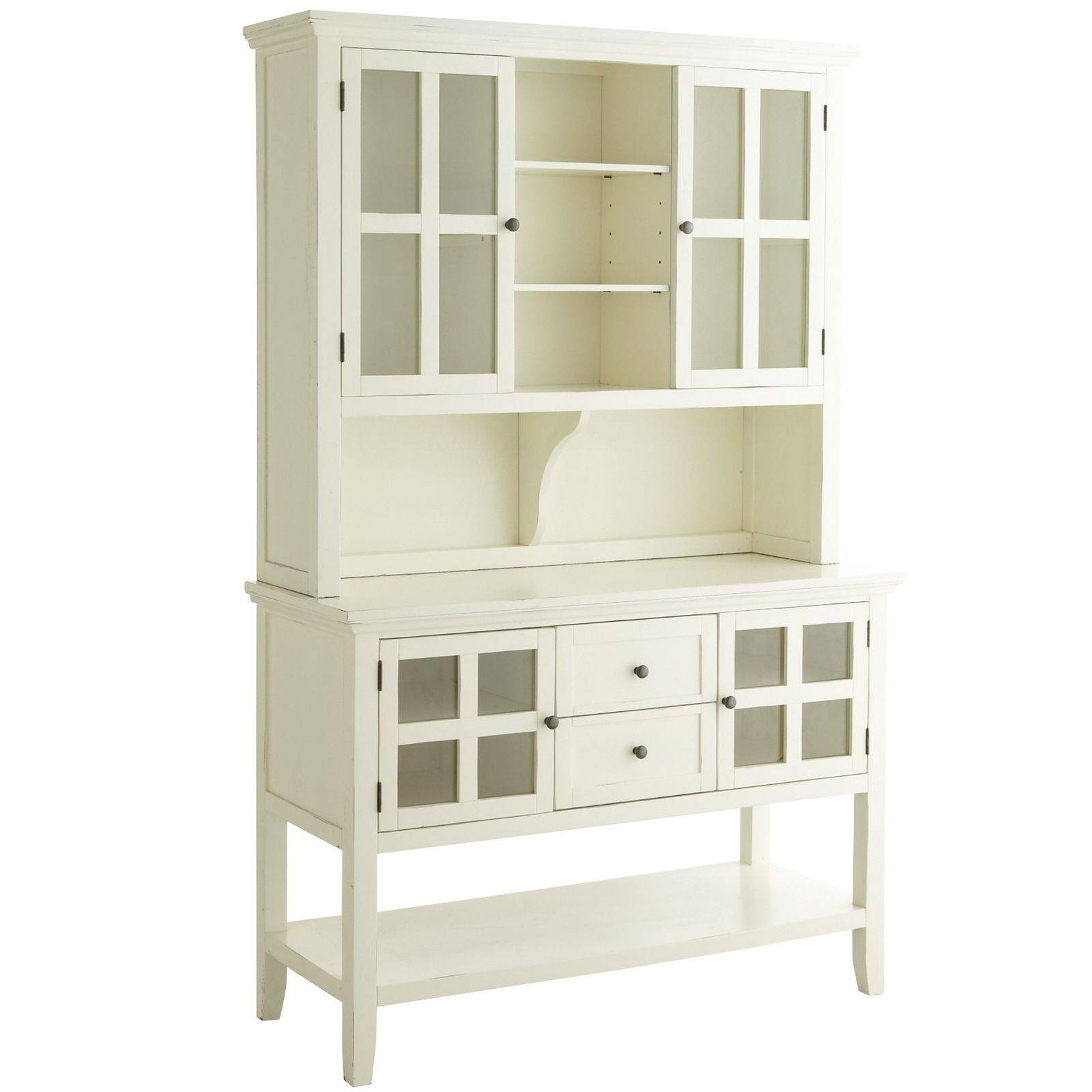 Sideboards: Glamorous Small Buffet Hutch Small Hutch Cabinet in Small White Sideboards (Image 24 of 30)