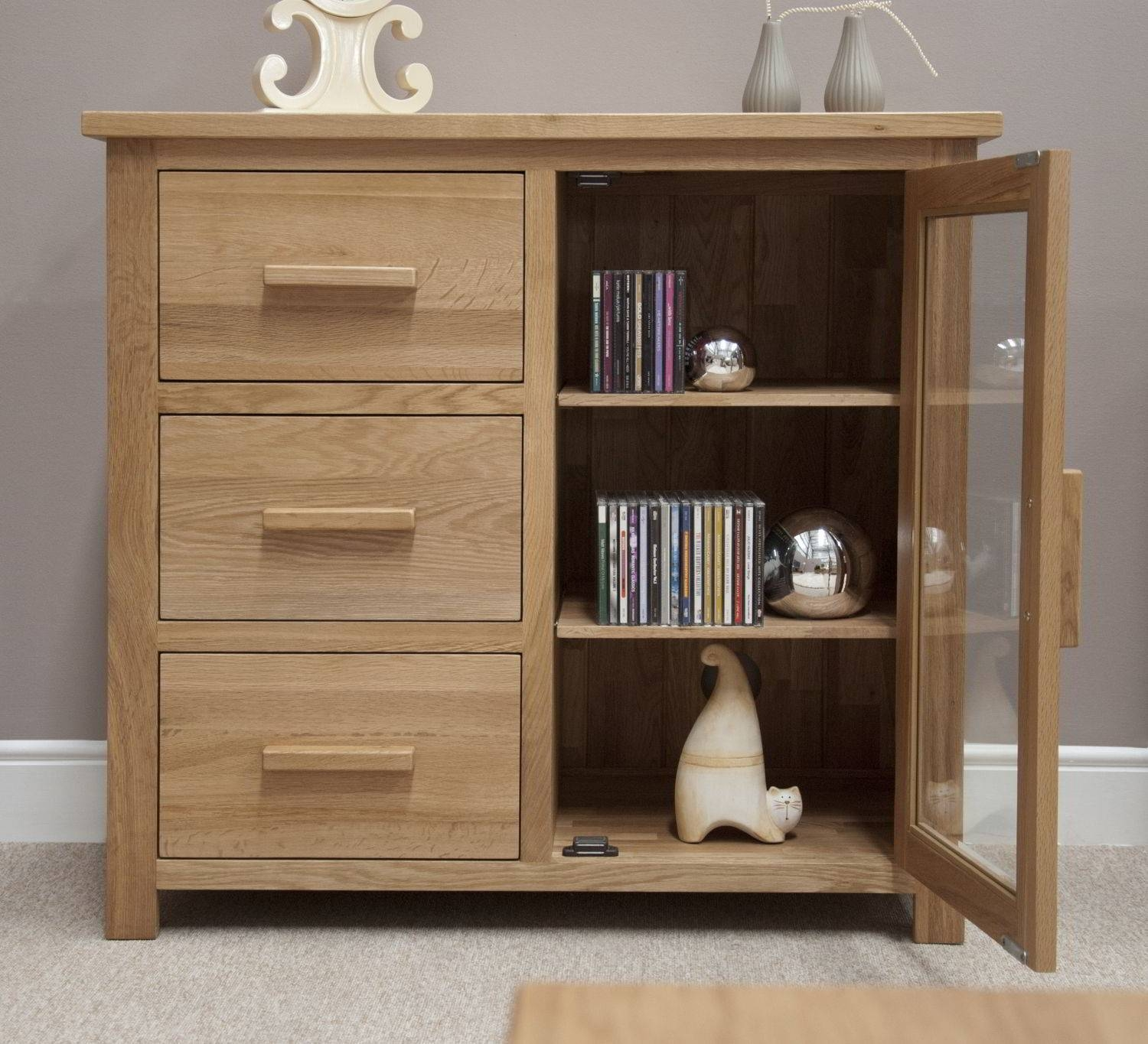 Sideboards: Glamorous Small Sideboard Cabinet Accent Sideboard inside Narrow Oak Sideboards (Image 26 of 30)