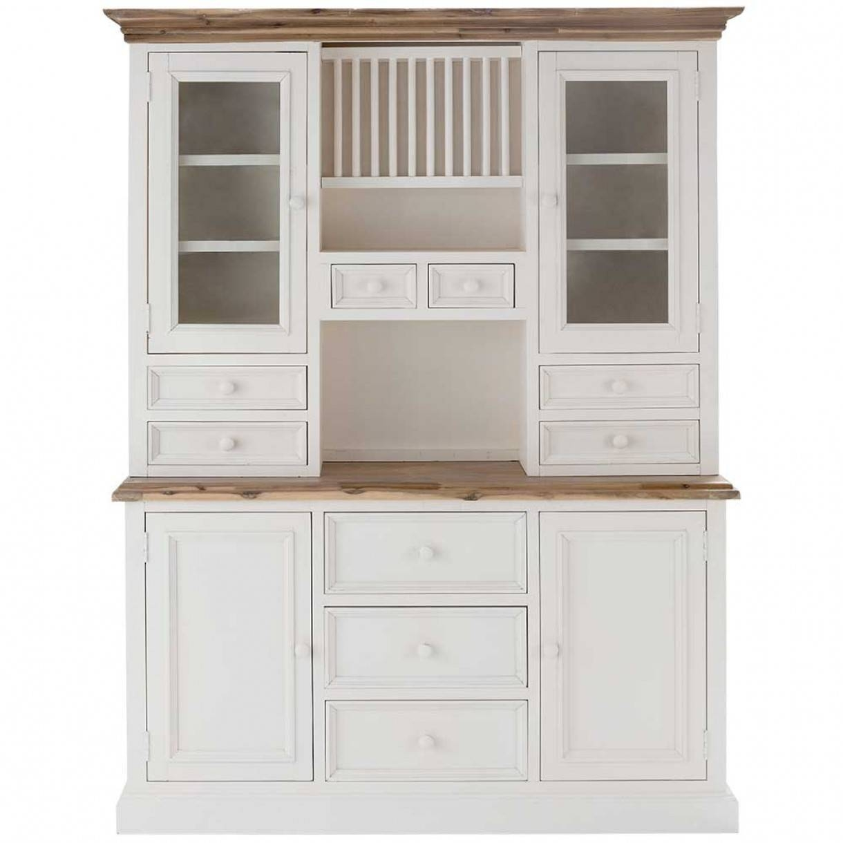 Sideboards. Inspiring Buffet And Hutch Furniture: Buffet-And-Hutch with regard to White Kitchen Sideboards (Image 19 of 30)