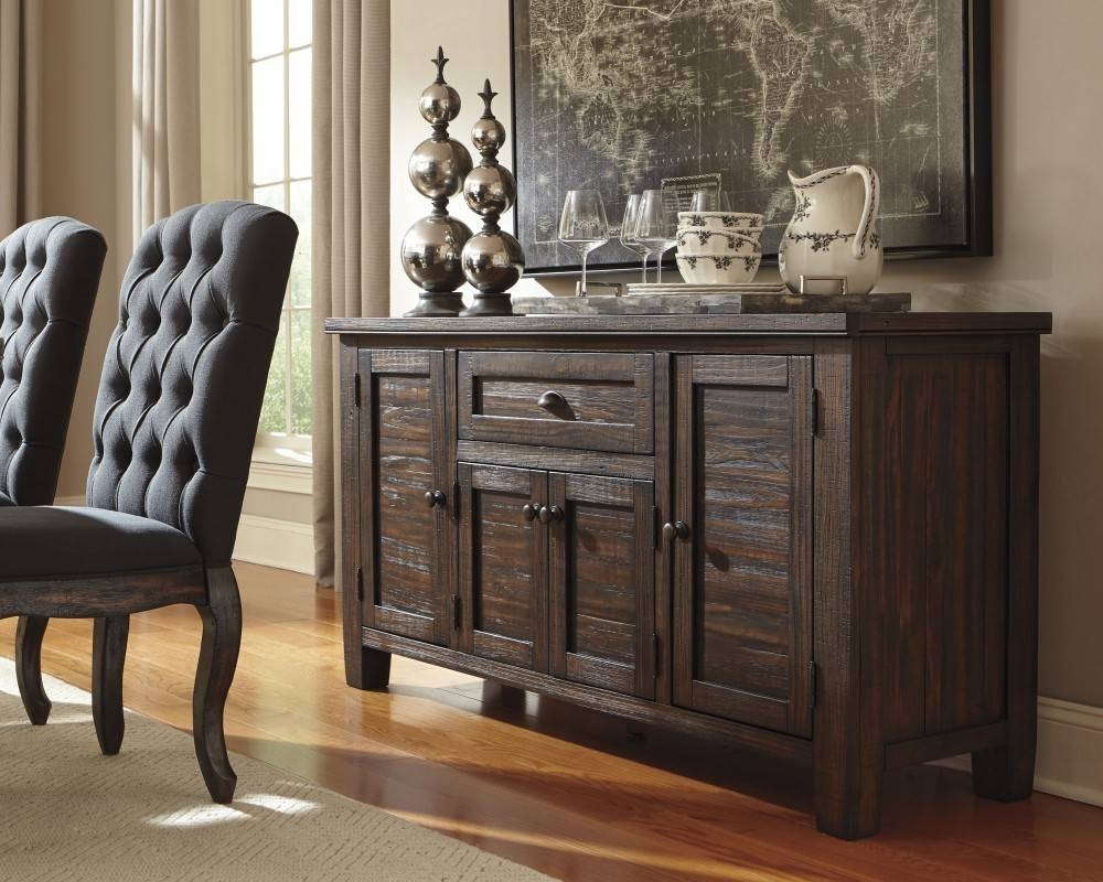 Sideboards. Inspiring Dining Room Servers: Dining-Room-Servers for Black And Silver Sideboards (Image 23 of 30)