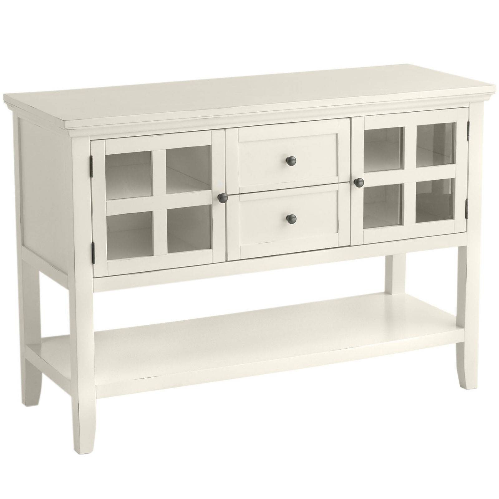 Sideboards. Inspiring Narrow Buffet Table: Narrow-Buffet-Table with regard to Narrow White Sideboards (Image 21 of 30)
