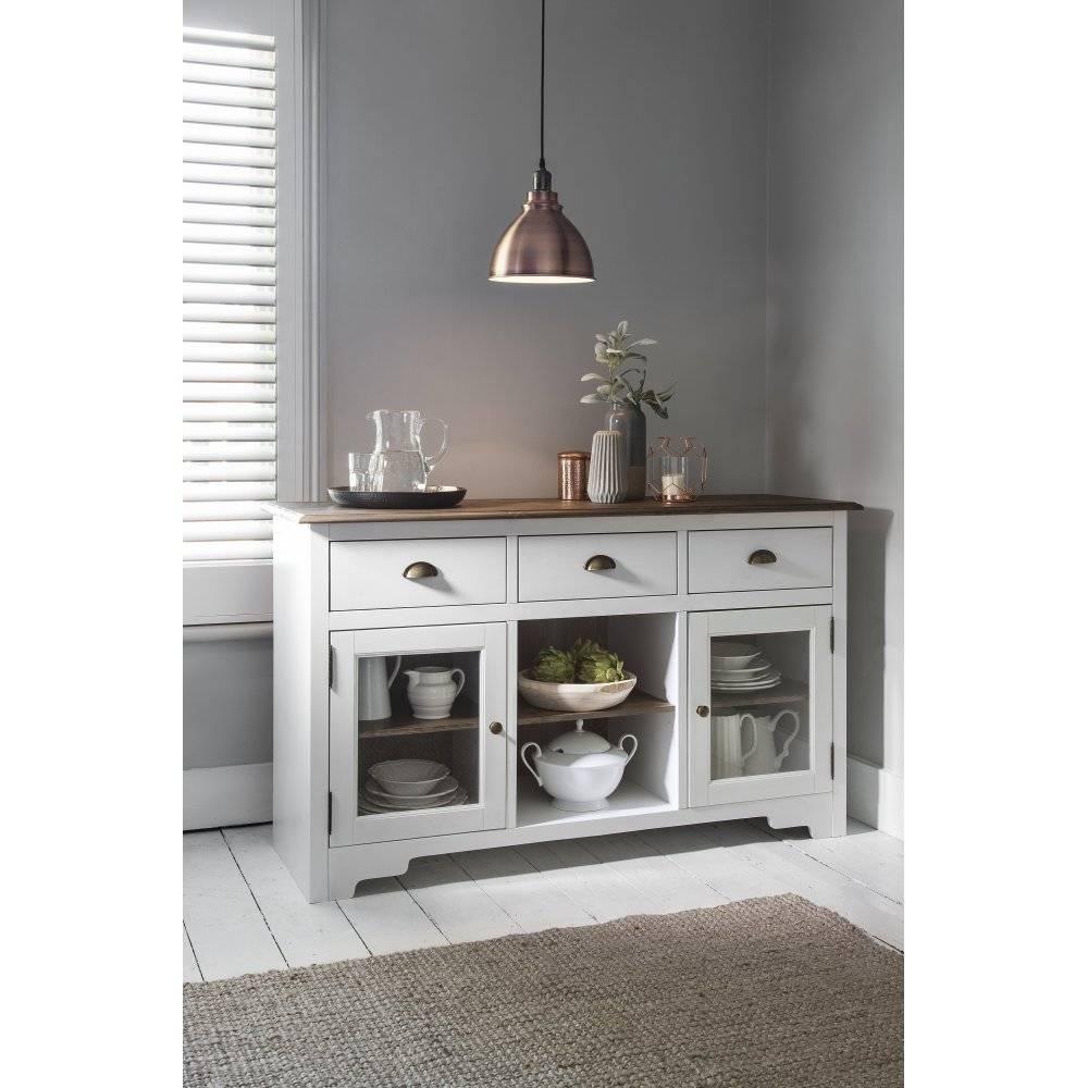 Sideboards. Inspiring White Sideboard Cabinet: White-Sideboard for Grey Gloss Sideboards (Image 24 of 30)