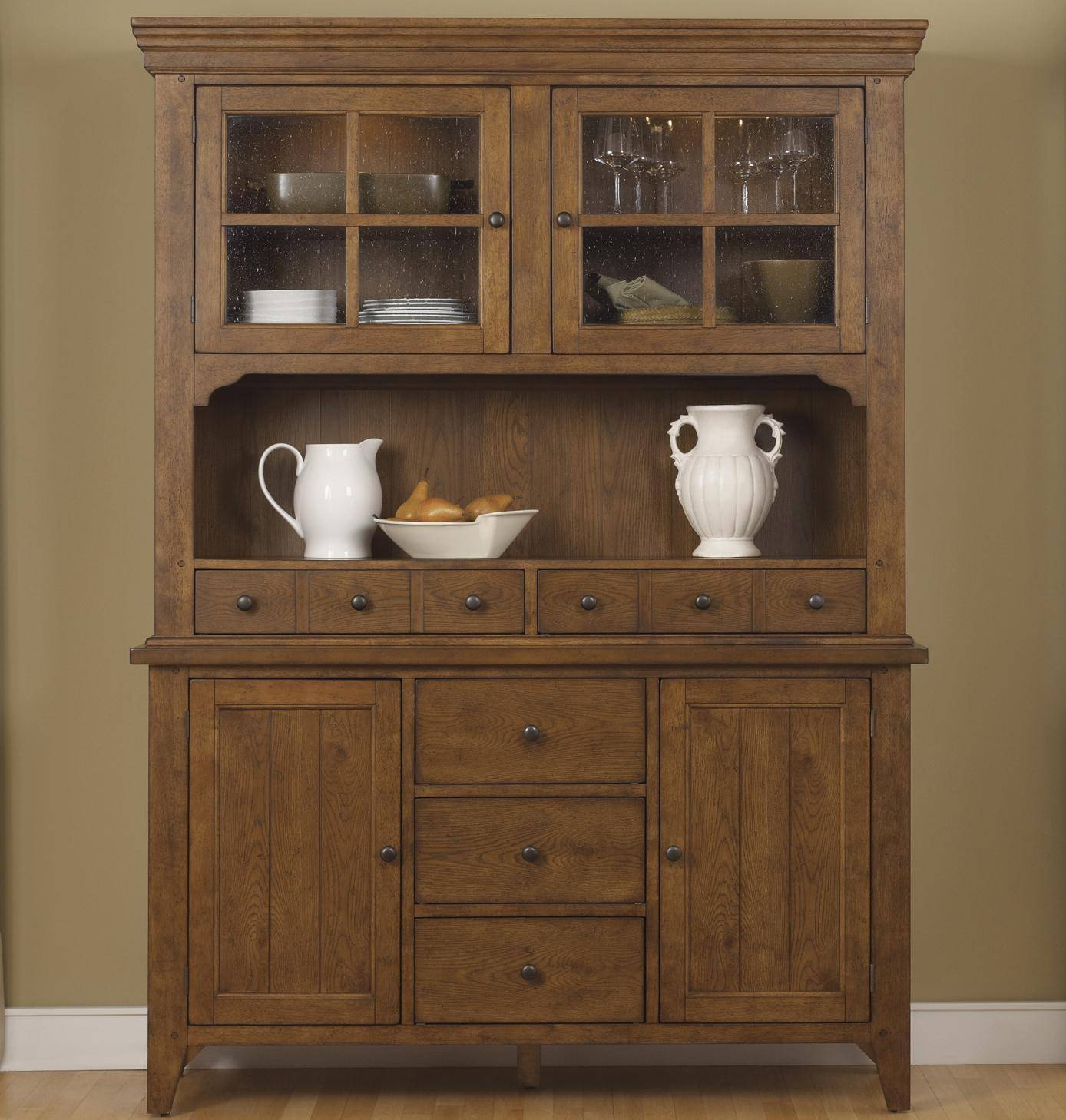 Sideboards. Interesting Buffet And Sideboard Tables: Buffet-And in Shallow Sideboard Cabinets (Image 23 of 30)