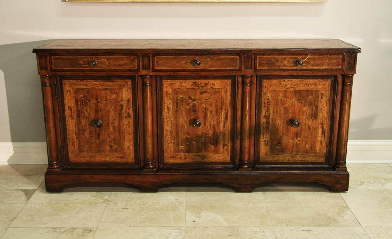 Sideboards. Interesting Rustic Credenza: Rustic-Credenza-Country within Rustic Sideboards (Image 26 of 30)