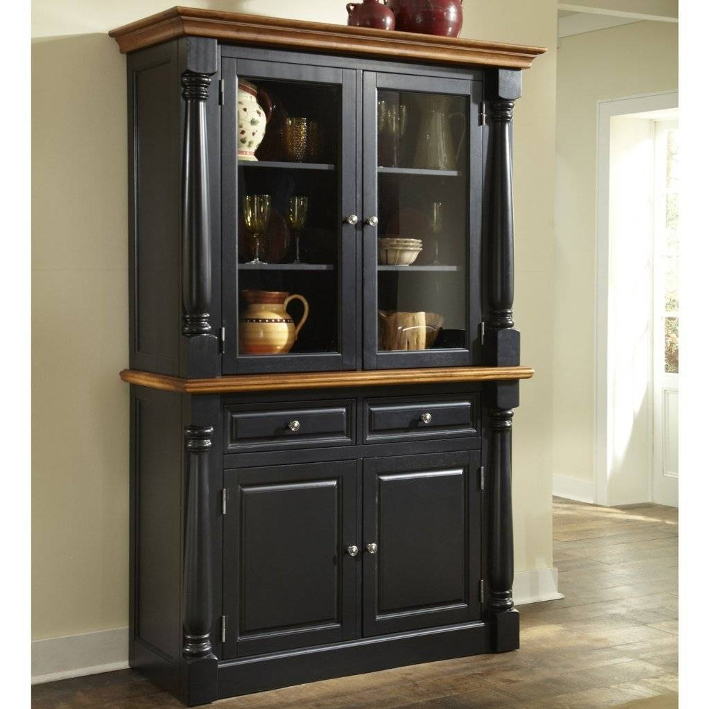 Sideboards: Marvellous China Cabinets And Buffets Buffet Hutch inside Small Dark Wood Sideboards (Image 28 of 30)