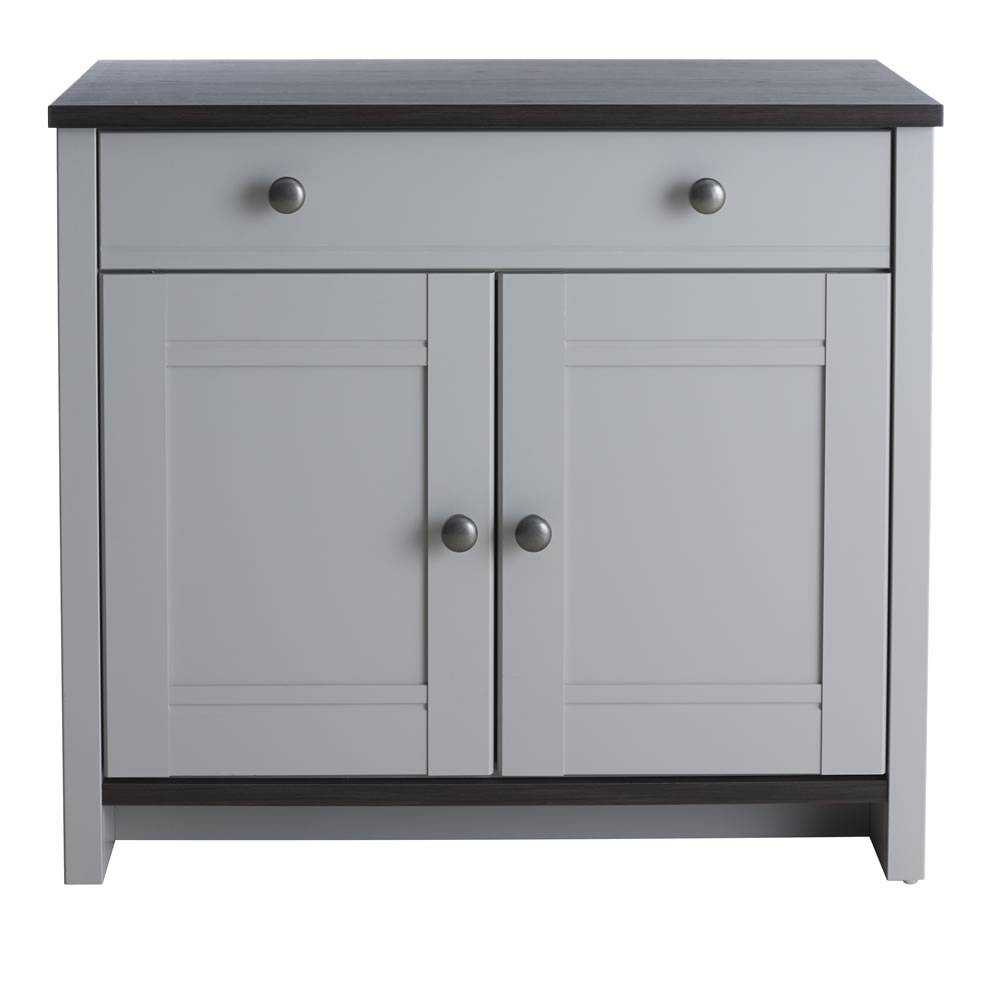 Sideboards. Marvellous Grey Sideboard: Grey-Sideboard-Dark-Grey within Black And Silver Sideboards (Image 25 of 30)