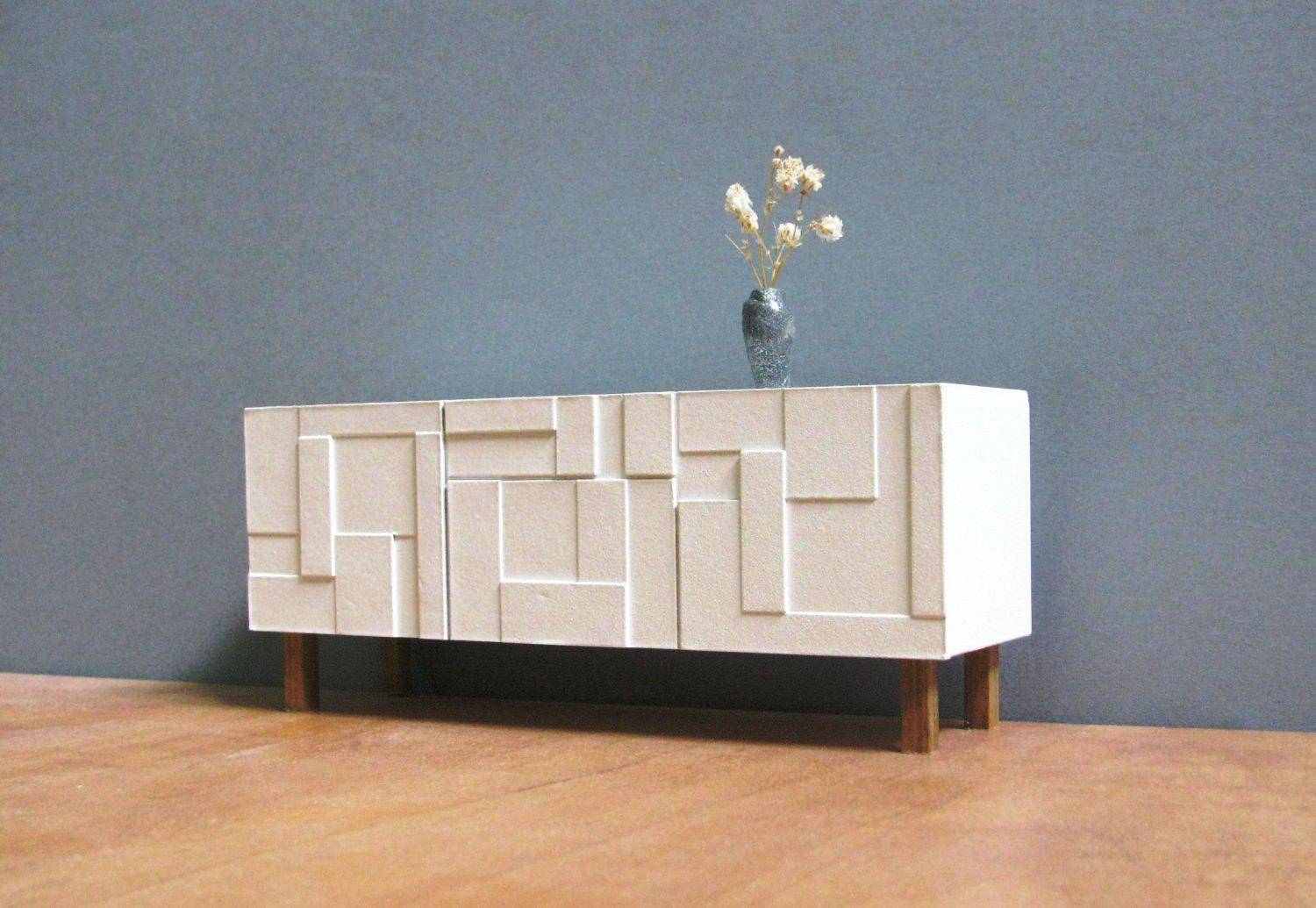 Sideboards. Marvellous Modern Credenza: Modern-Credenza-Modern for White Sideboards (Image 21 of 30)