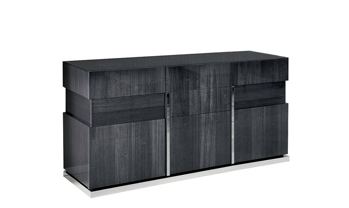 Sideboards - Modern, Oak And Pine Sideboards - Fishpools with regard to Grey Gloss Sideboards (Image 20 of 30)