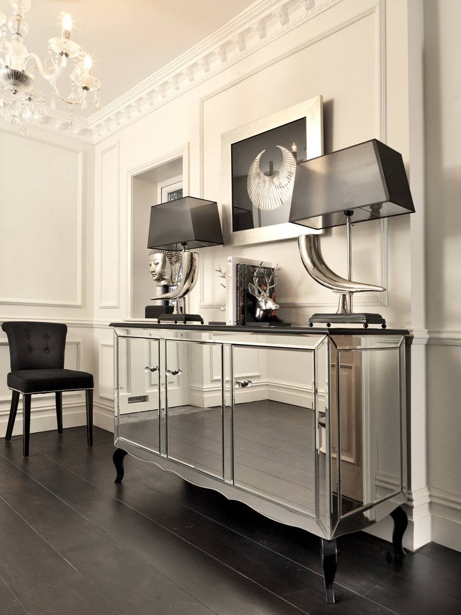 Sideboards: Outstanding Glass Credenza Furniture Glass Top Regarding Glass Top Sideboards (View 4 of 30)