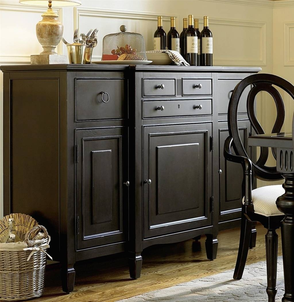 Sideboards. Outstanding Maple Buffet Server: Maple-Buffet-Server pertaining to Small Black Sideboards (Image 26 of 30)