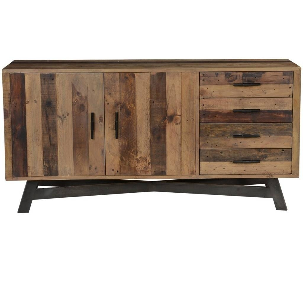 Sideboards. Outstanding Rustic Sideboard Buffet: Rustic-Sideboard with Sideboards for Sale (Image 27 of 30)