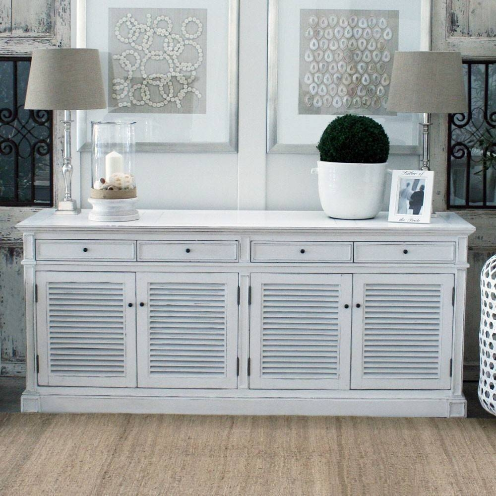 Sideboards. Outstanding White Sideboards And Buffets: White within White Sideboards (Image 22 of 30)
