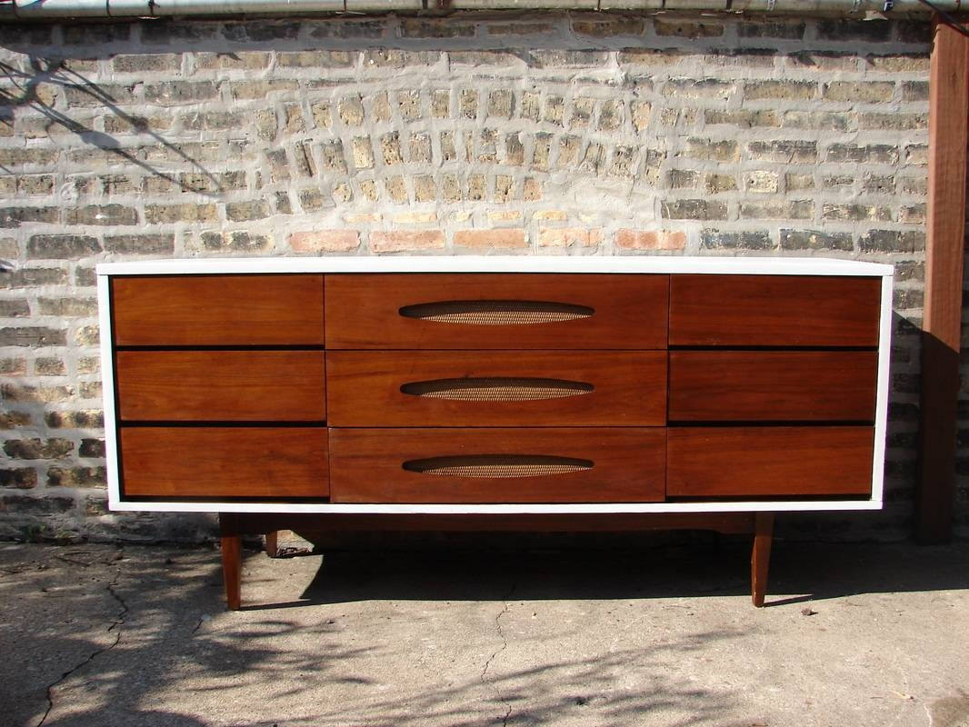 Sideboards. Stunning Mid Century Buffet: Mid-Century-Buffet-Mid throughout Sideboards With Lamps (Image 28 of 30)