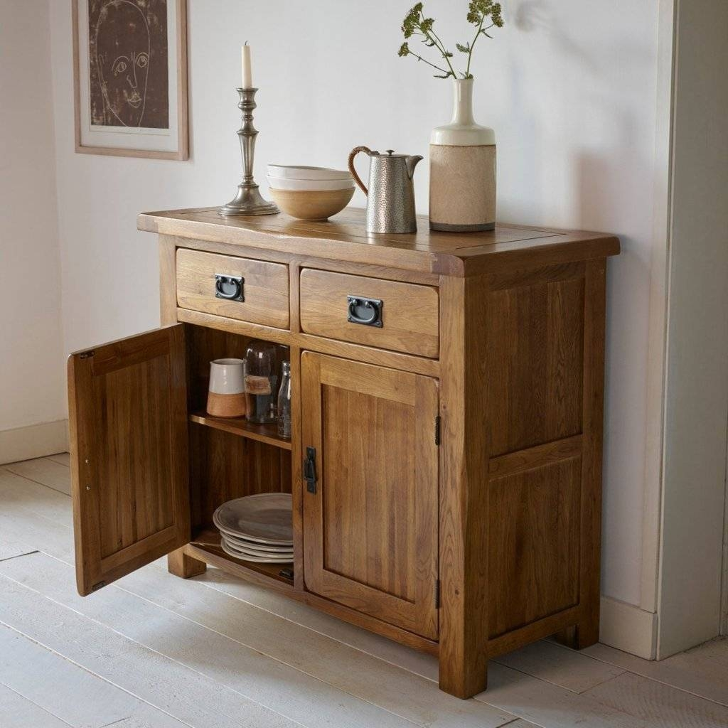 Sideboards. Stunning Rustic Sideboards Furniture: Rustic within Country Sideboards (Image 29 of 30)