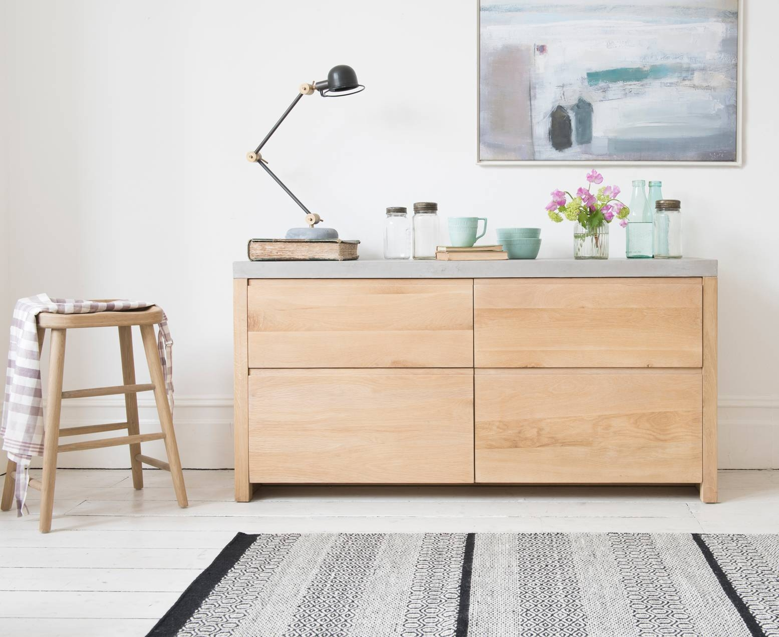 Sidewalk Oak Sideboard | Wooden Sideboard | Loaf with Contemporary Oak Sideboards (Image 29 of 30)