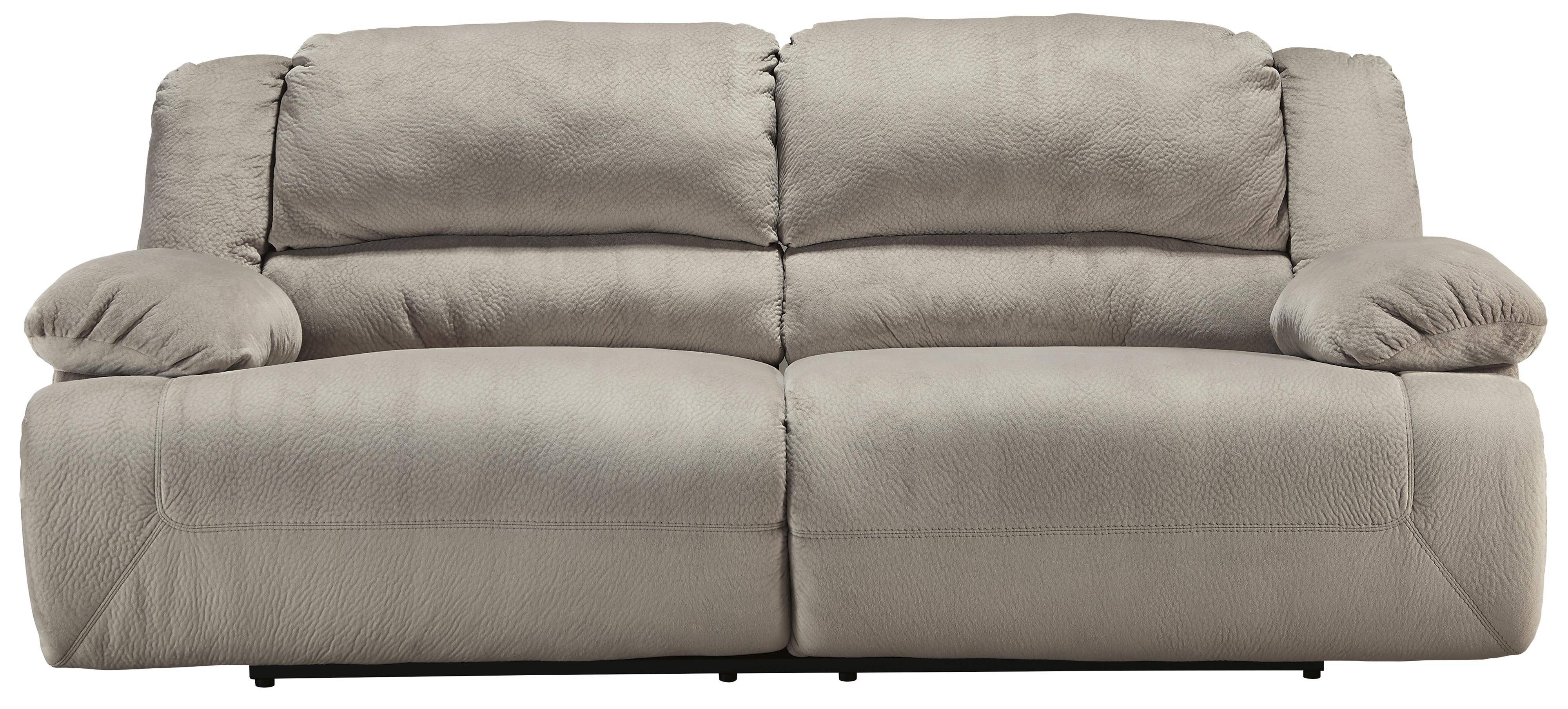 Signature Designashley Toletta - Granite Casual Contemporary 2 within 2 Seat Recliner Sofas (Image 16 of 30)