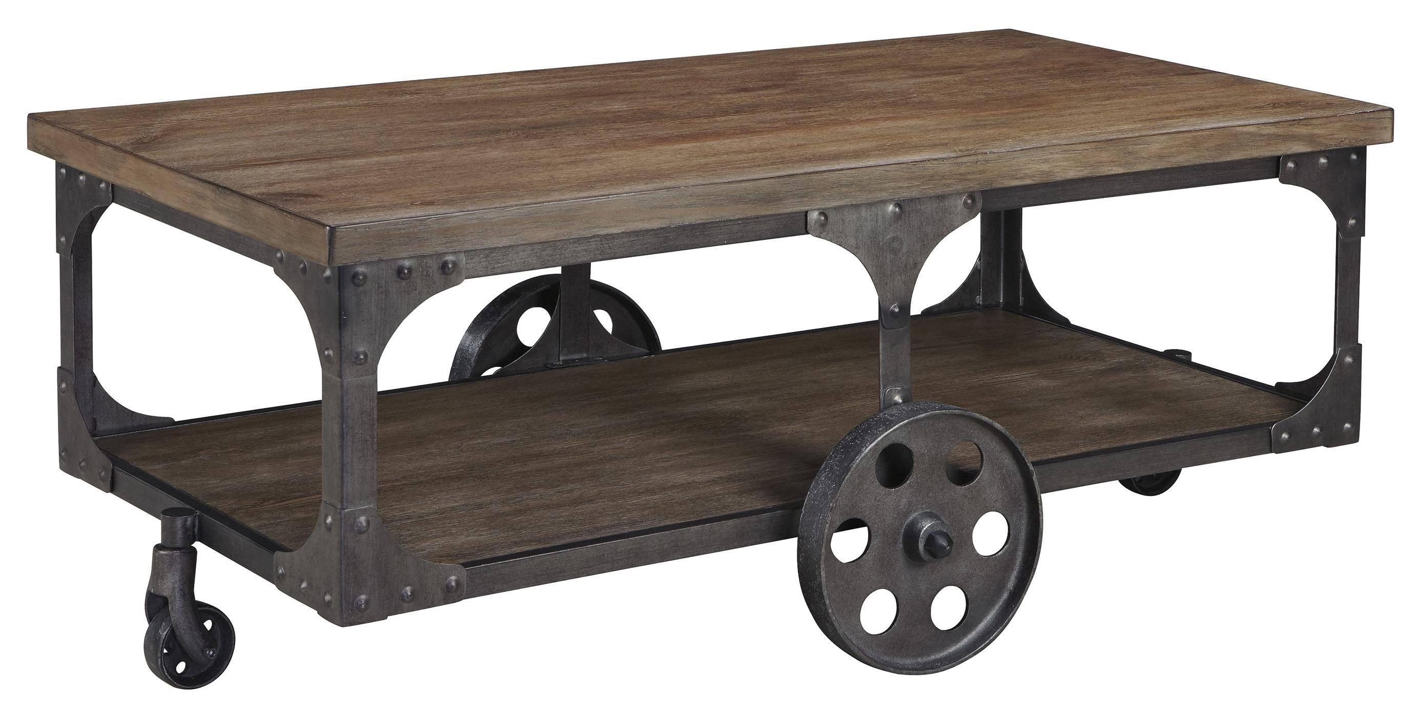 30 Inspirations of Wheels Coffee Tables