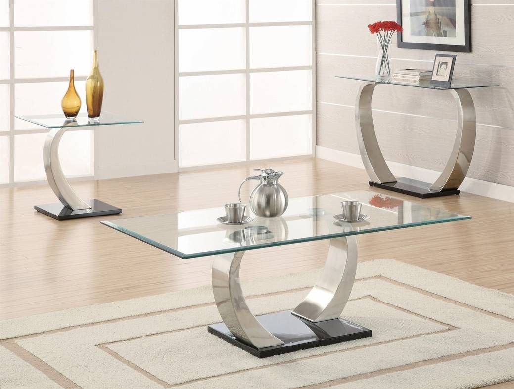 Silver Glass Coffee Table – Steal A Sofa Furniture Outlet Los Regarding Glass And Silver Coffee Tables (View 24 of 30)