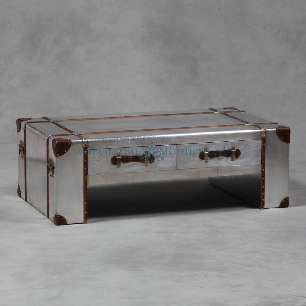 Silver Trunk Coffee Table intended for Silver Trunk Coffee Tables (Image 23 of 30)