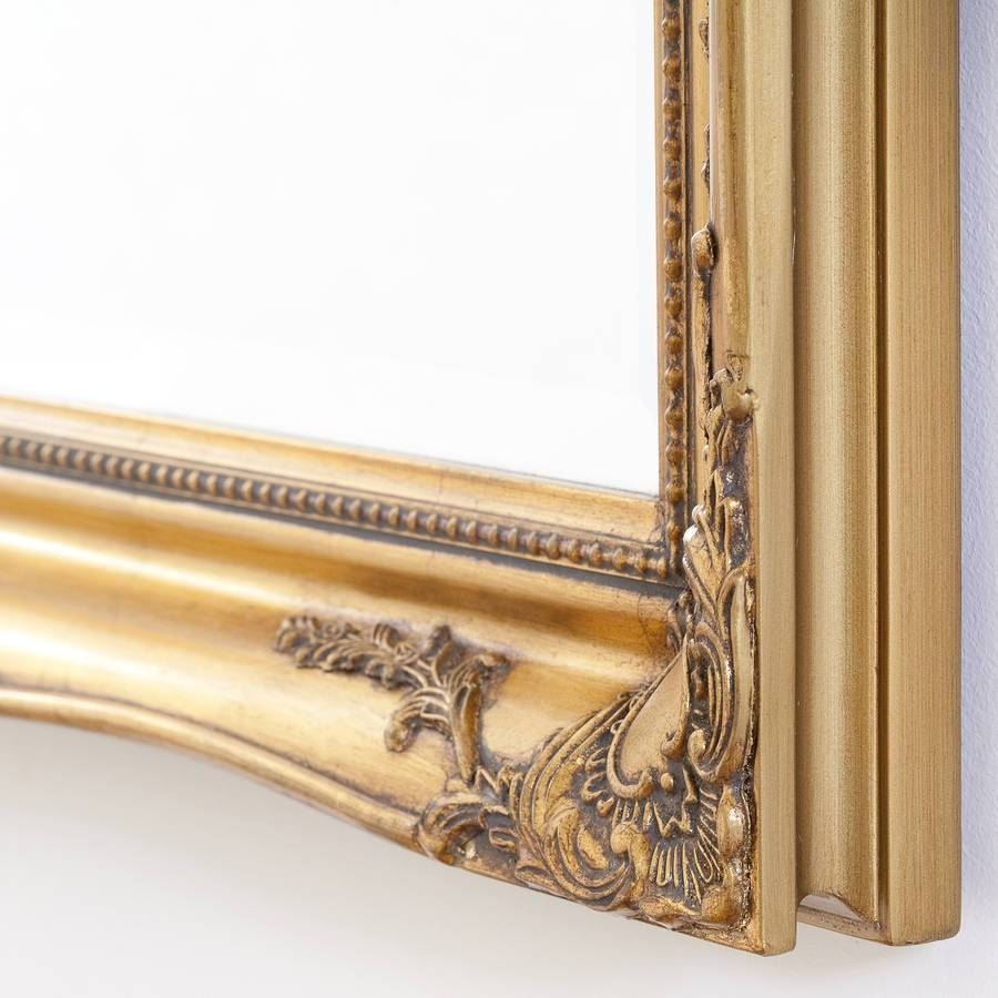 Simple Classic French Gold Mirrordecorative Mirrors Online with French Gold Mirrors (Image 25 of 25)