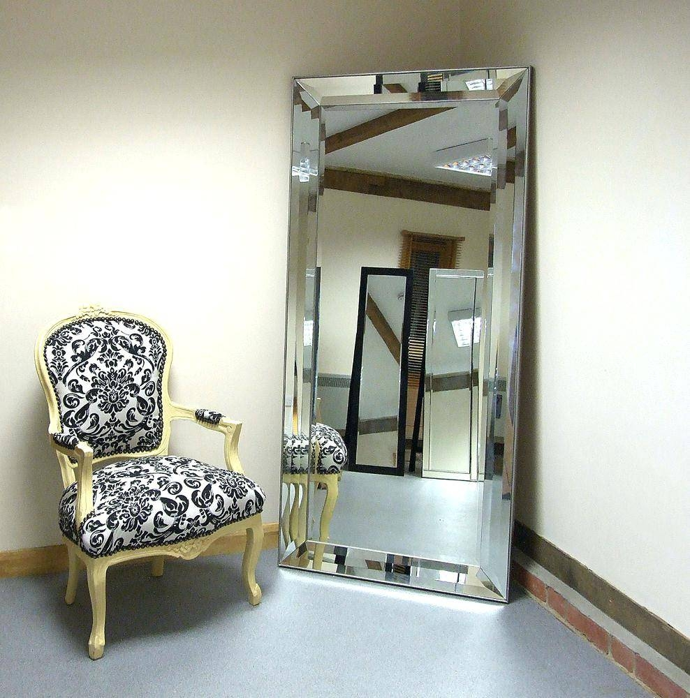 Simple Design Extra Large Wall Mirrors Lofty Mirrorlarge Full regarding No Frame Wall Mirrors (Image 14 of 25)