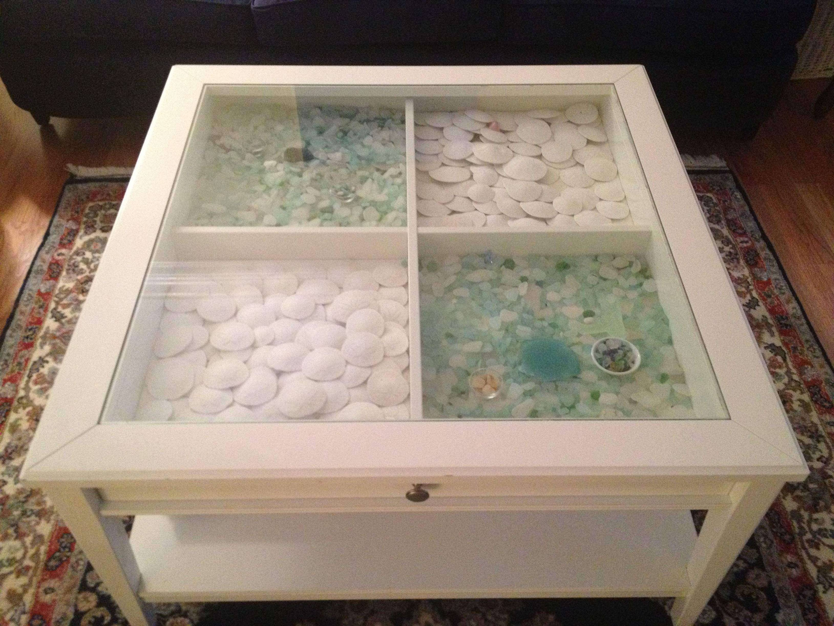 Simple Glass Top Display Coffee Table With Drawers inside Glass Top Display Coffee Tables With Drawers (Image 29 of 30)