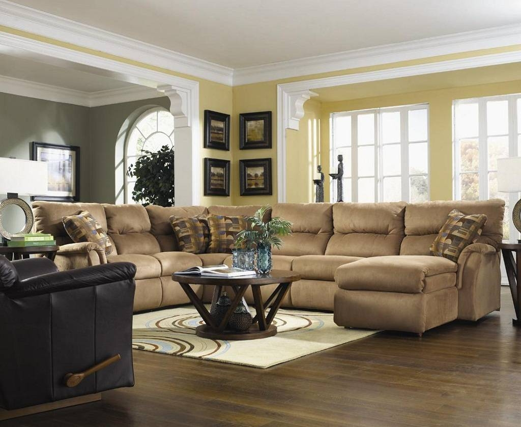 Simple Modern Living Room Sectionals A With Modular Sofa And pertaining to Decorating With a Sectional Sofa (Image 26 of 30)