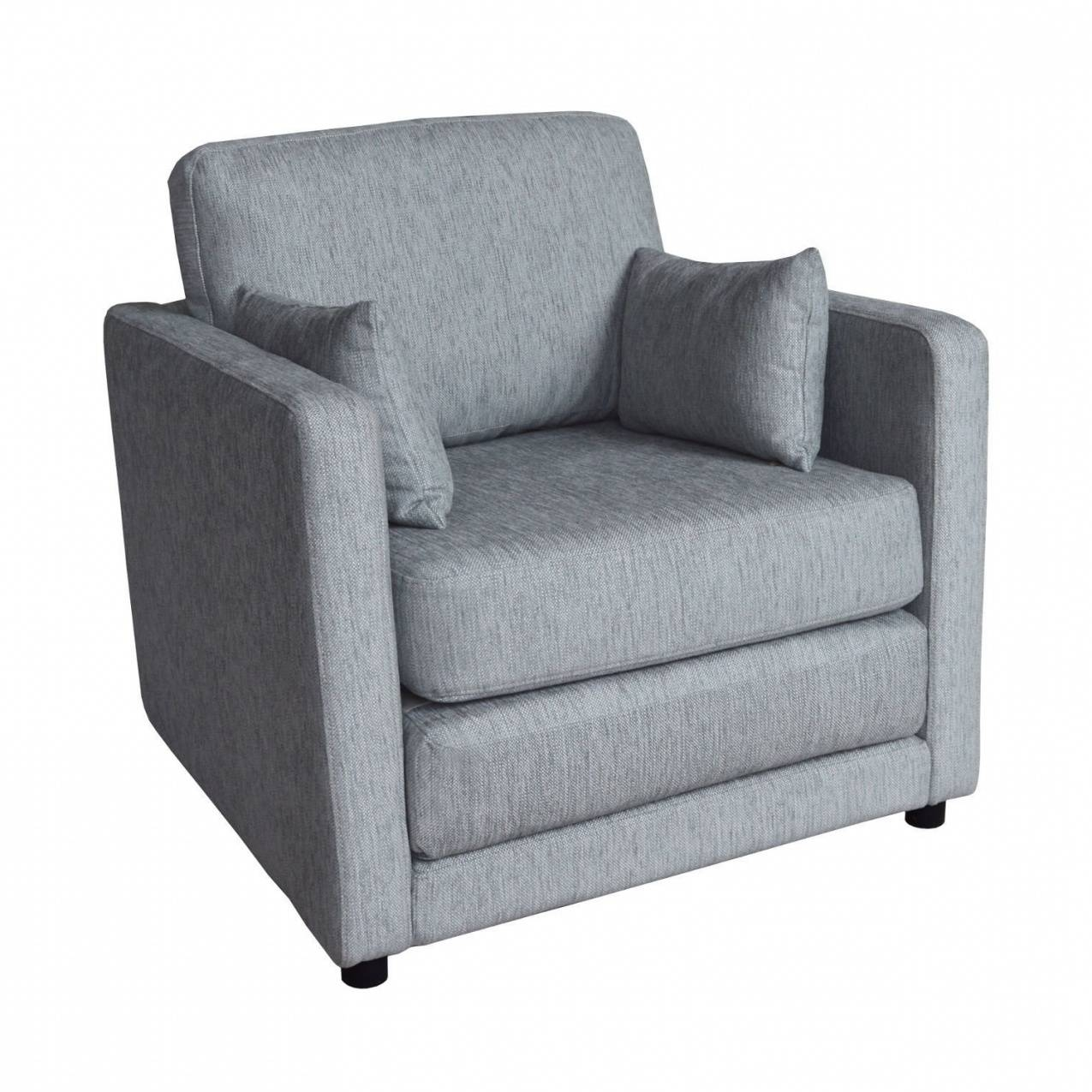 Single Chair Sofa Bed For Sale - Elite Home pertaining to Single Chair Sofa Bed (Image 13 of 30)