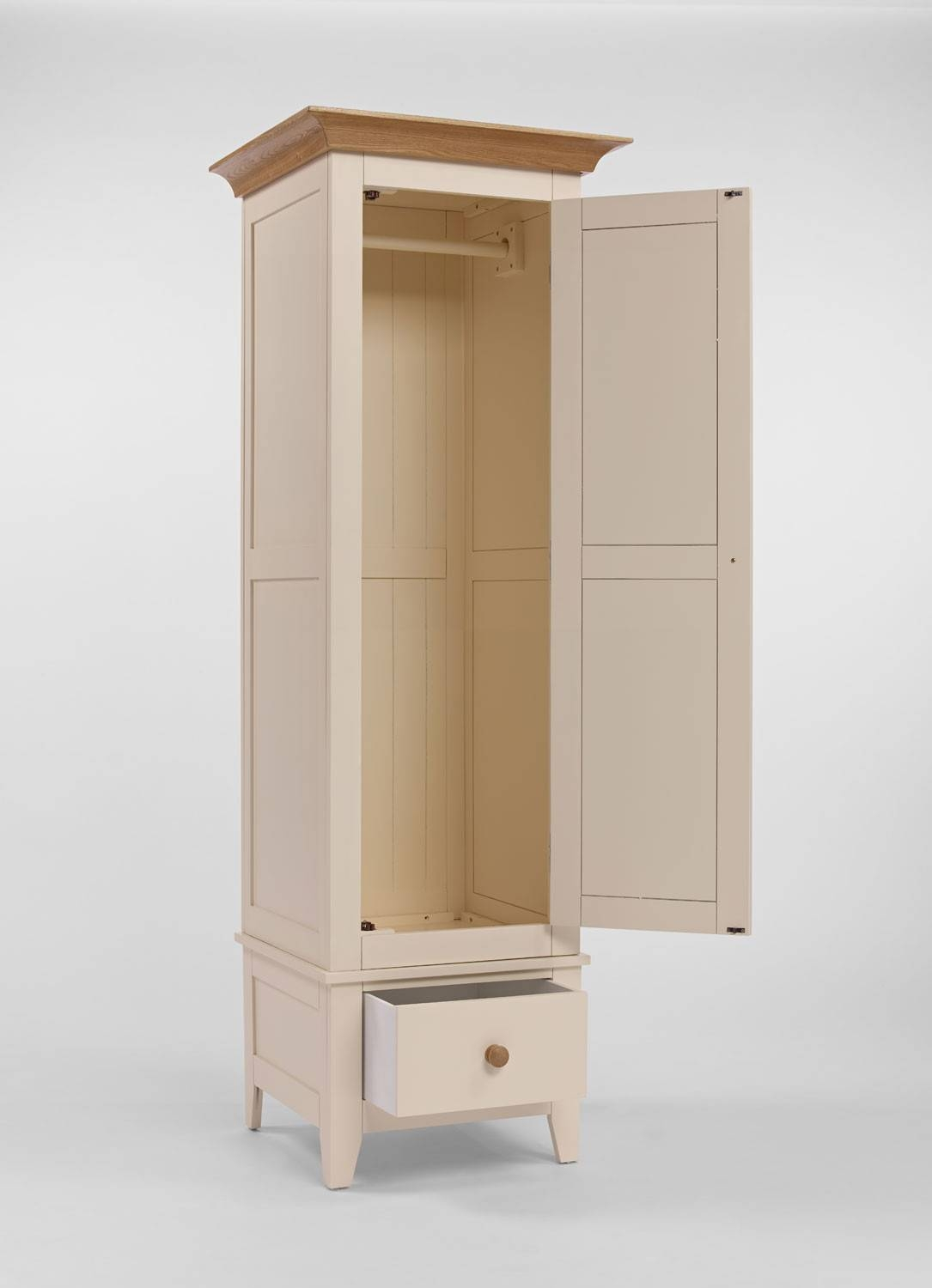 Single Cream Wardrobe – Camden Within Cream Single Wardrobes (View 12 of 15)