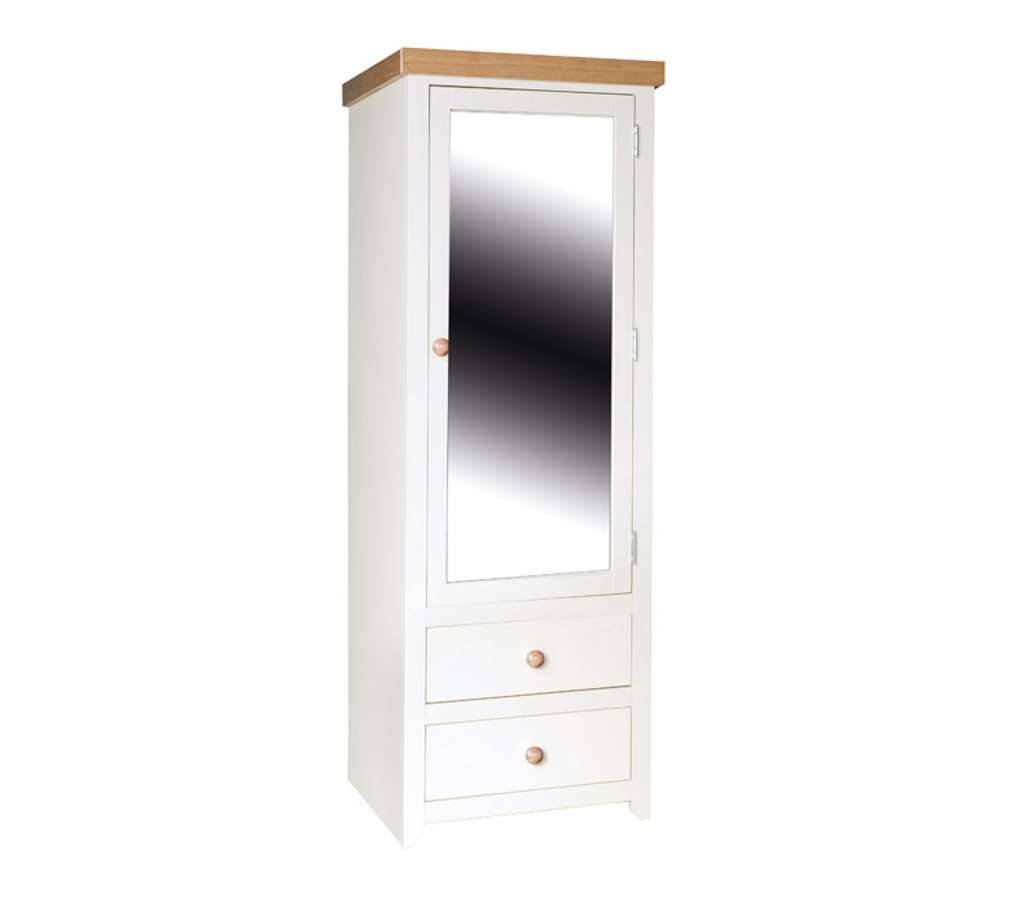 Popular Photo of Single Wardrobes With Mirror