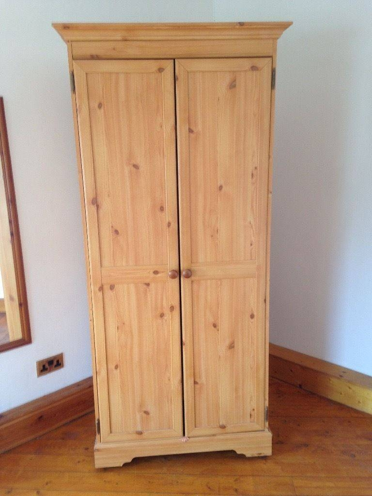 Single Pine Wardrobe | In Shotts, North Lanarkshire | Gumtree intended for Single Pine Wardrobes With Drawers (Image 13 of 15)
