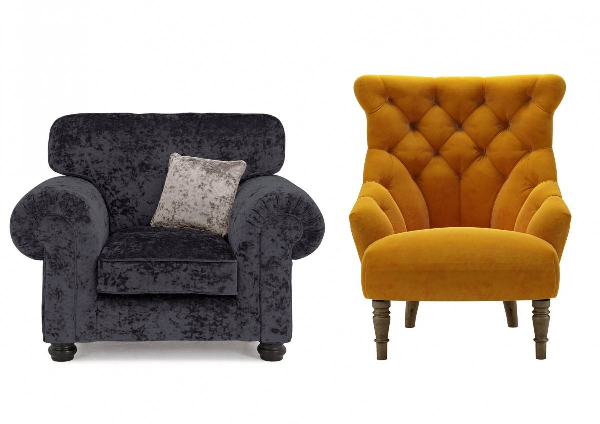 Featured Photo of Fabric Armchairs