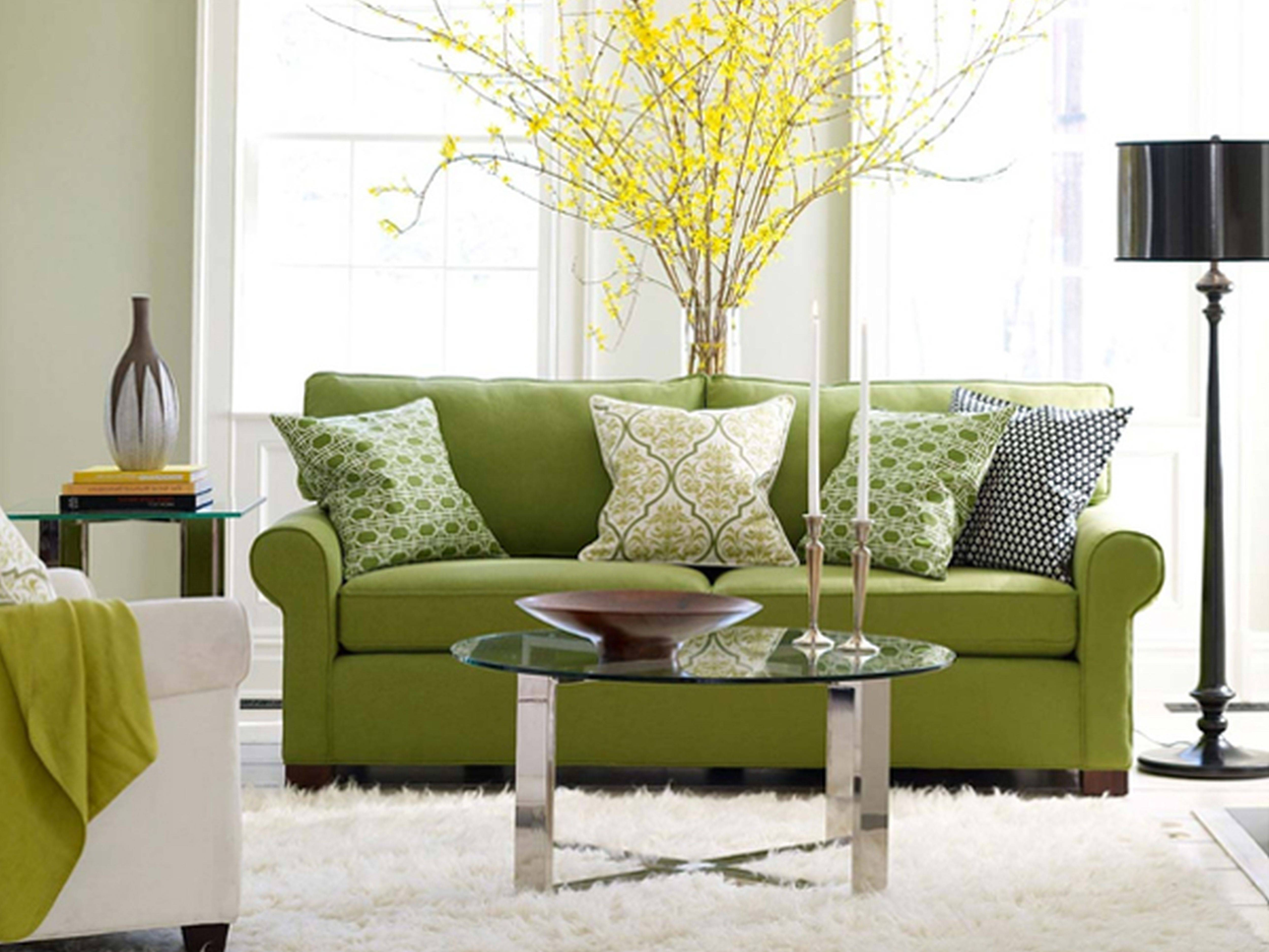 Skillful Design Green Living Room Furniture Imposing Ideas Living intended for Green Sofa Chairs (Image 26 of 30)