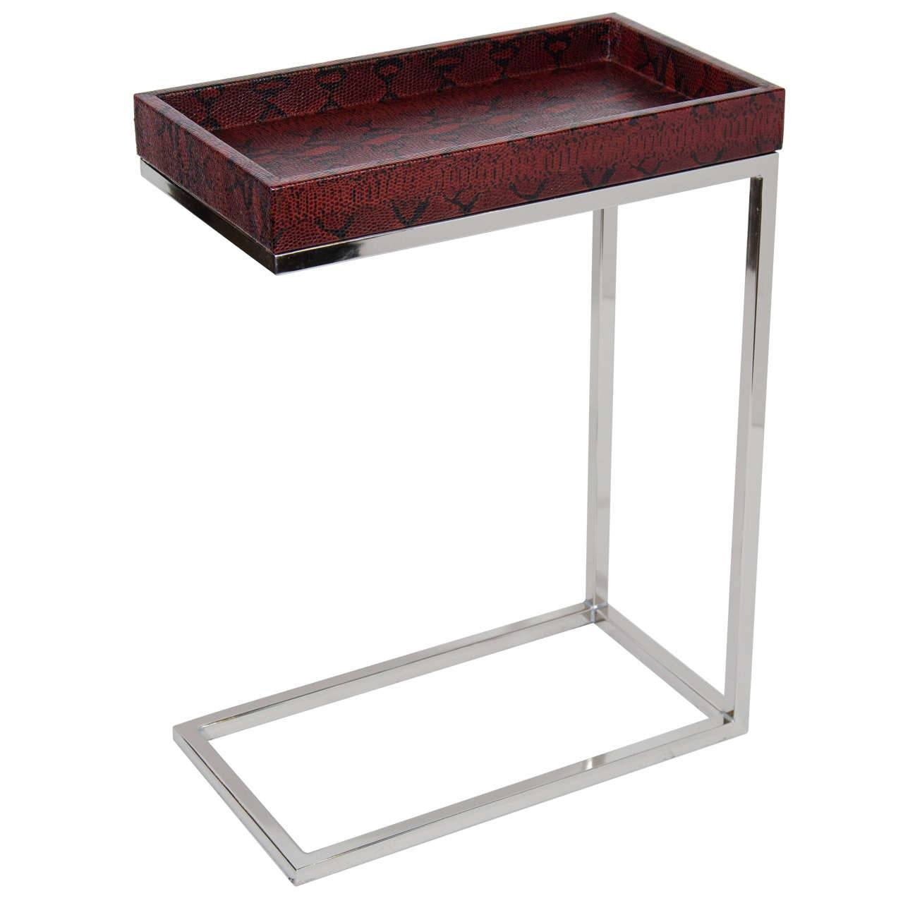 Skinny Coffee Table   Arlene Designs inside C Coffee Tables (Image 25 of 30)