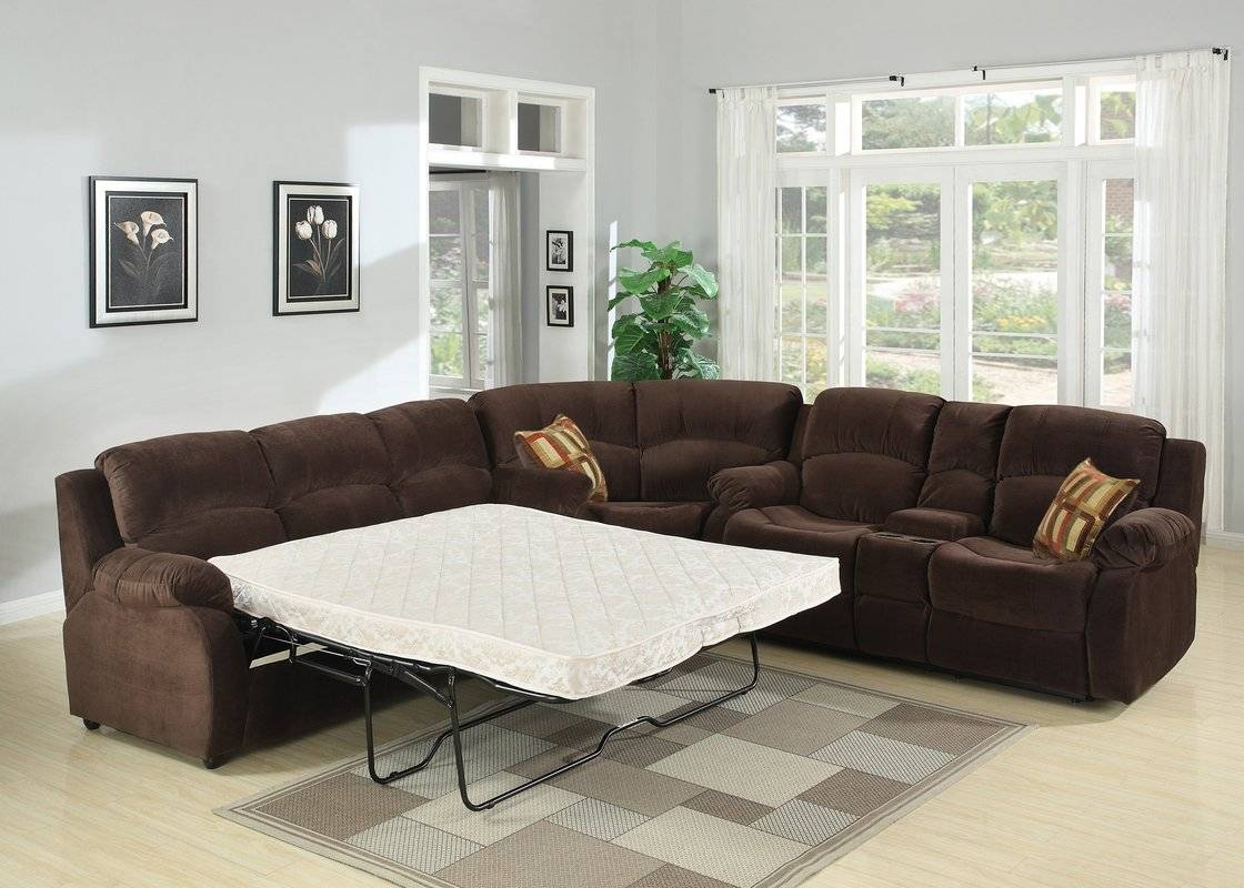 Sleeper Sectional Sofas You'll Love | Wayfair pertaining to Sectional Sofa Beds (Image 14 of 30)