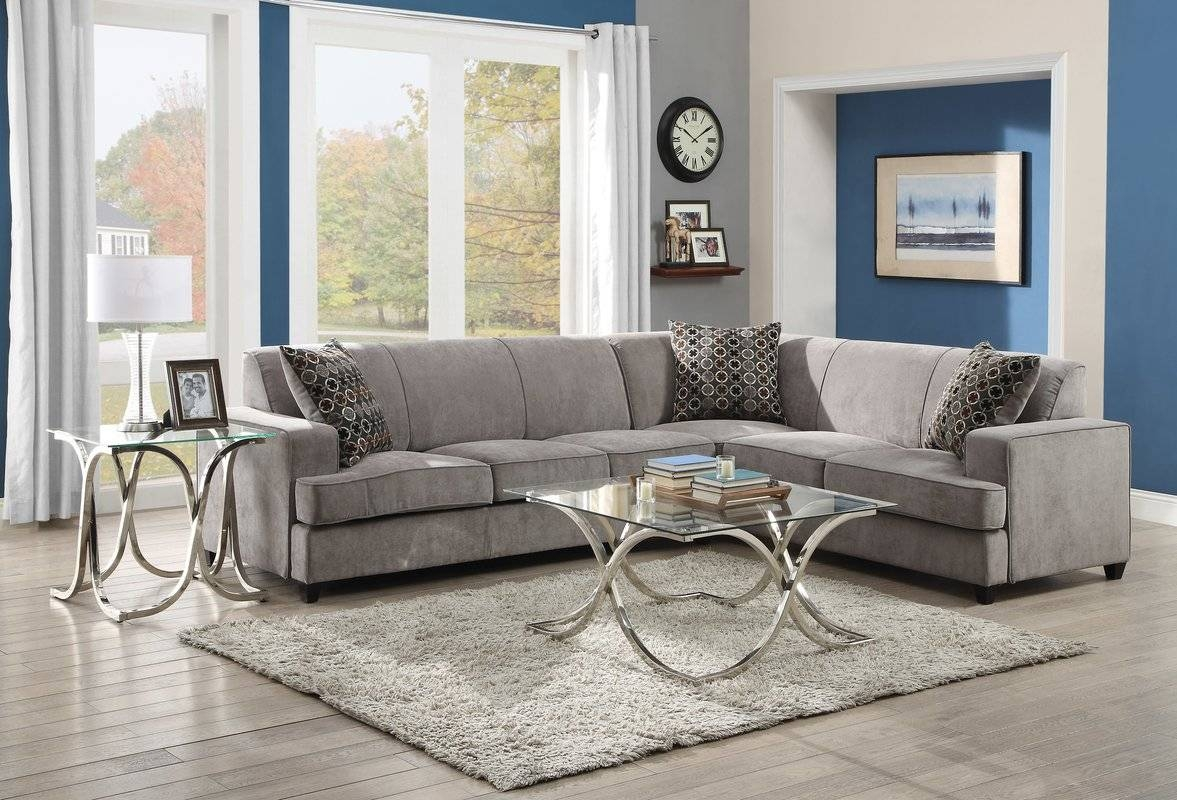 Sleeper Sectional Sofas You'll Love | Wayfair throughout Sectional Sofa Beds (Image 17 of 30)